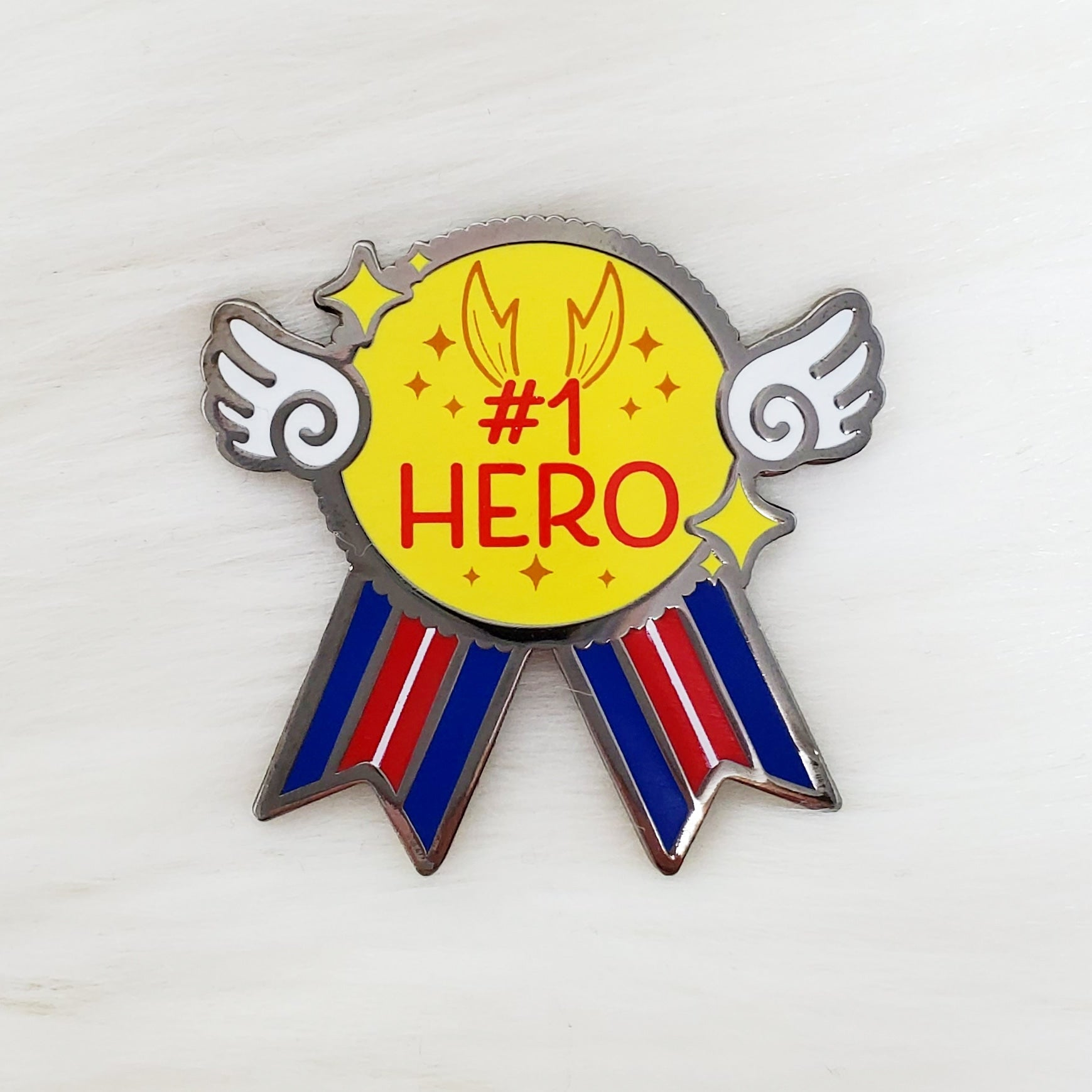♡ #1 Hero Enamel Pin ♡