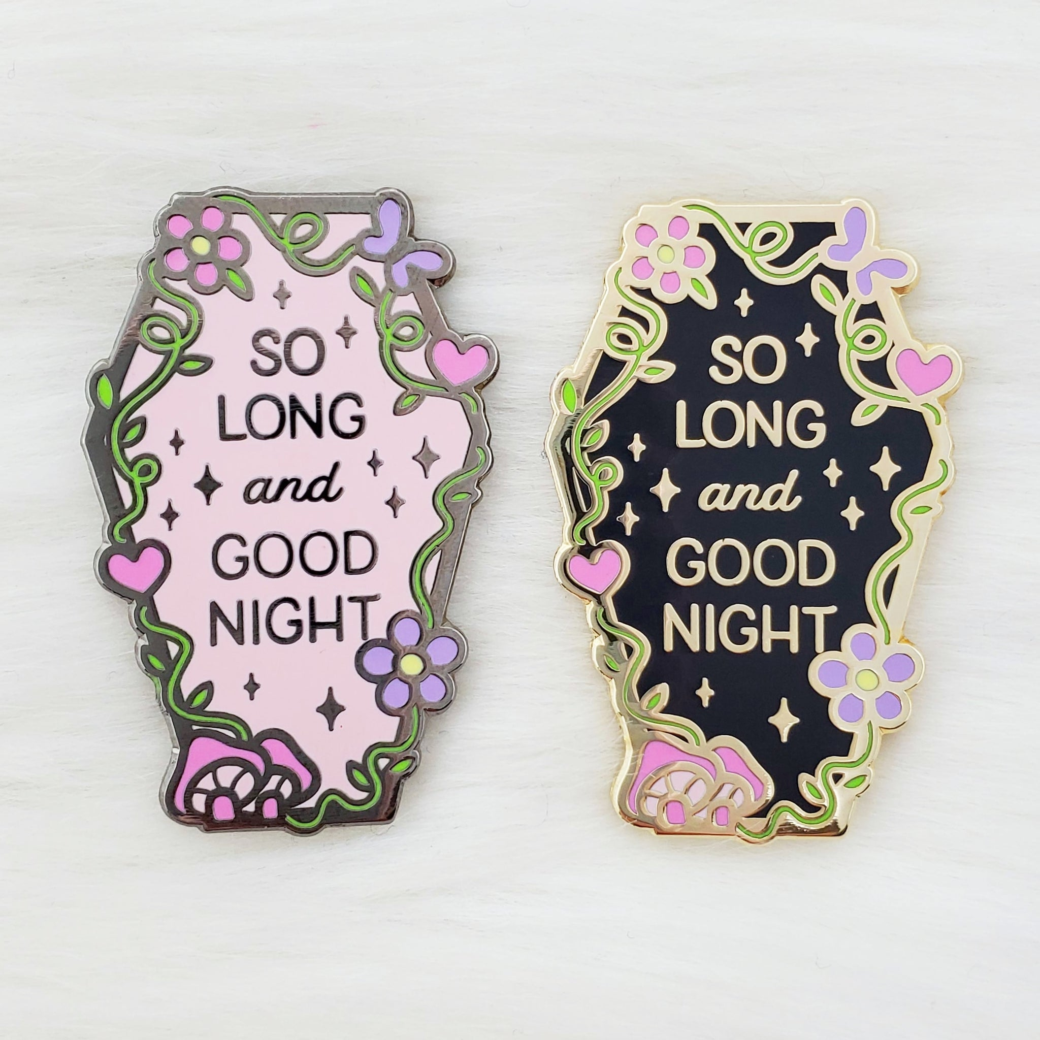 ♡ Good Night Enamel Pin ♡