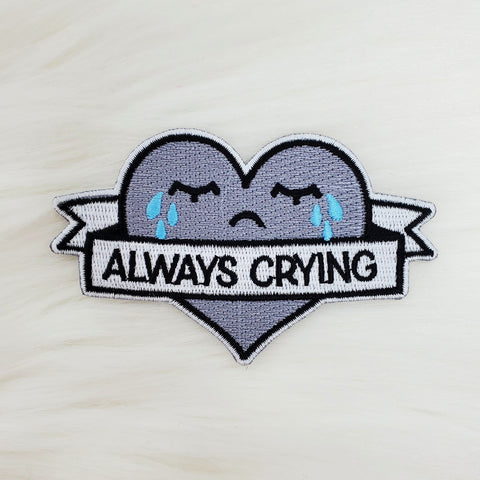 ♡ Always Crying Patch ♡