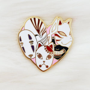 ♡  HMC Anime Lover Enamel Pin ♡