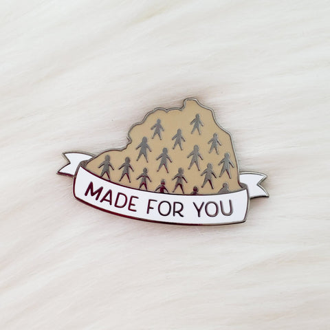 ♡ Made for You Enamel Pin ♡