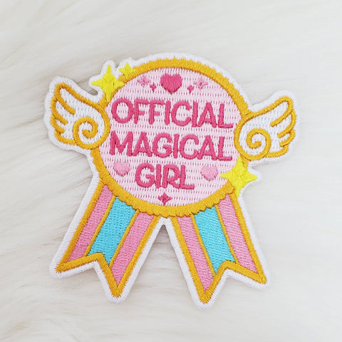 ♡ Official Magical Girl Iron-On Patch ♡