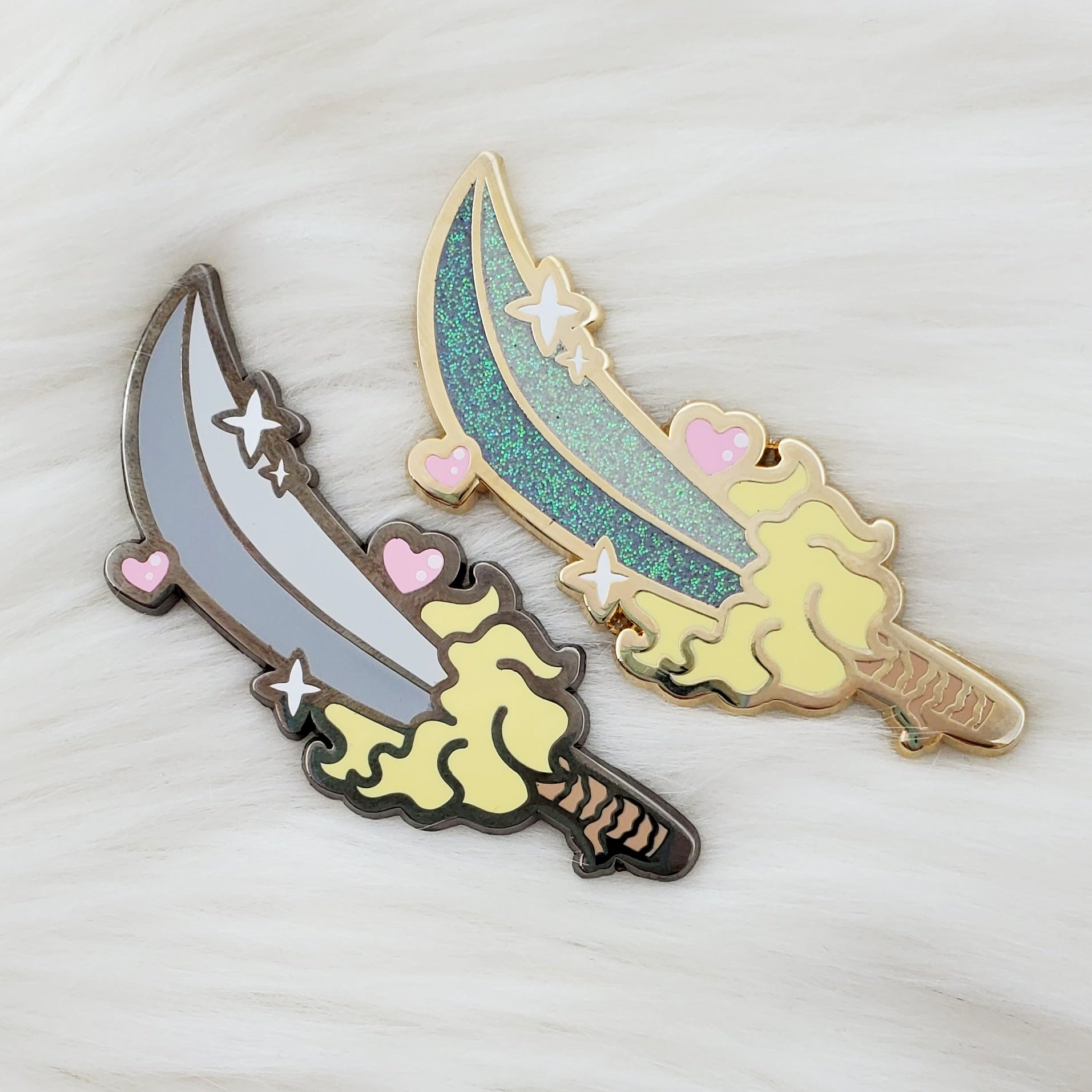 ♡ Sword of Destruction Enamel Pin ♡