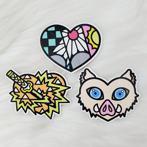♡ Slayer's Hearts Sticker Pack ♡