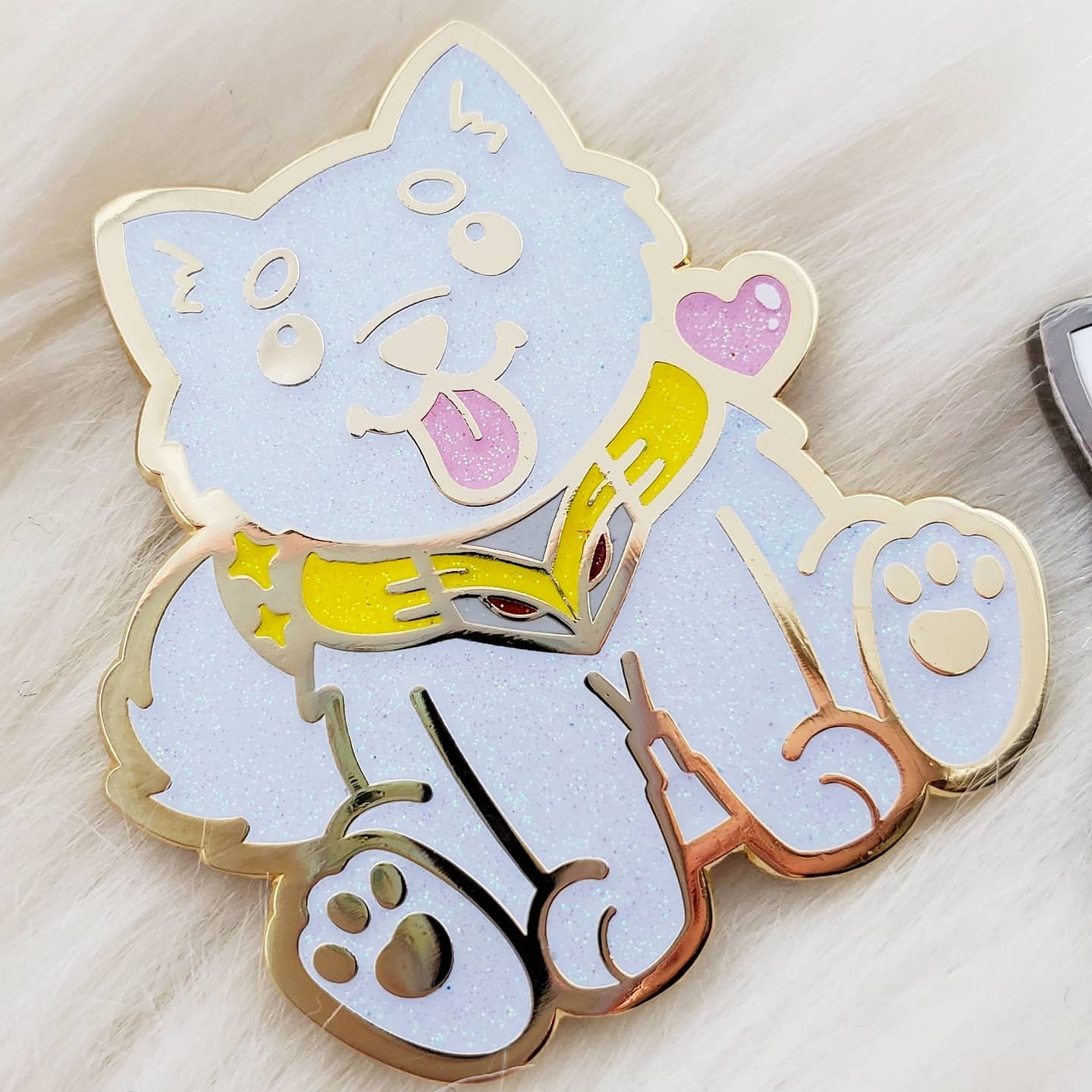 ♡ He is Here! Enamel Pin ♡