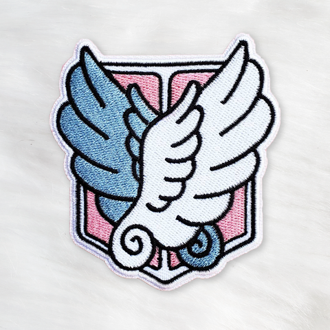 ♡ Wings of Freedom Iron-On Patch ♡
