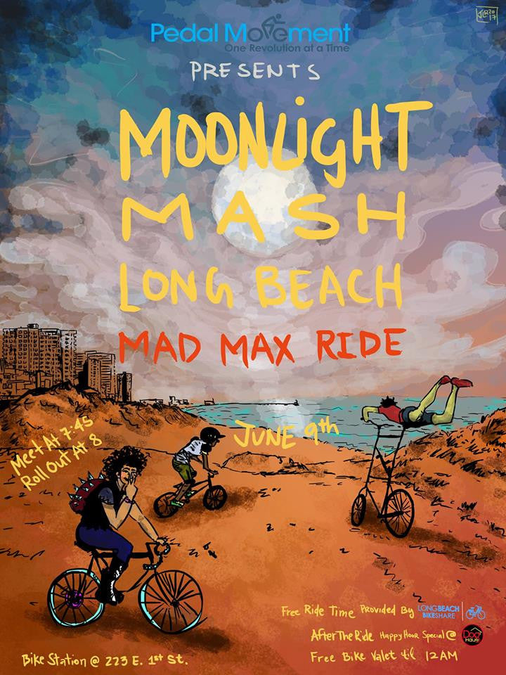 Moonlight Mash, Long Beach (06/09/17)