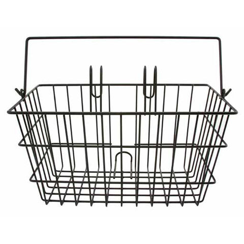 Rectangle Wire Basket w/ Handle - Plenty of Bikes