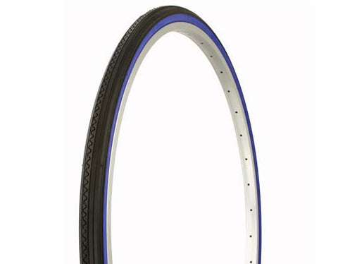 Duro Road Tires - 27 x 1 1/4 - Wall - Asst Colors - Plenty of Bikes