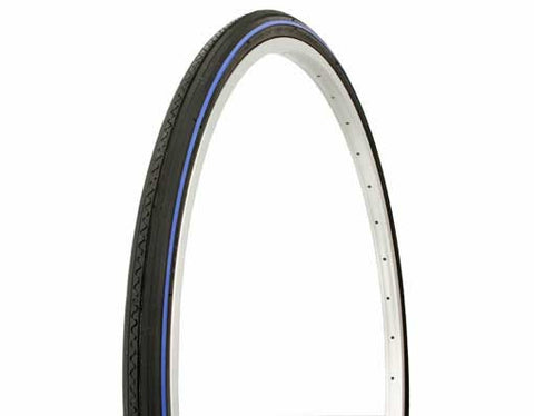 Duro Road Tires - 27 x 1 1/4 - Line - Asst Colors - Plenty of Bikes
