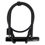 Sunlite Standard 5x7.75 U-Lock & 4x10mm Cable - Plenty of Bikes