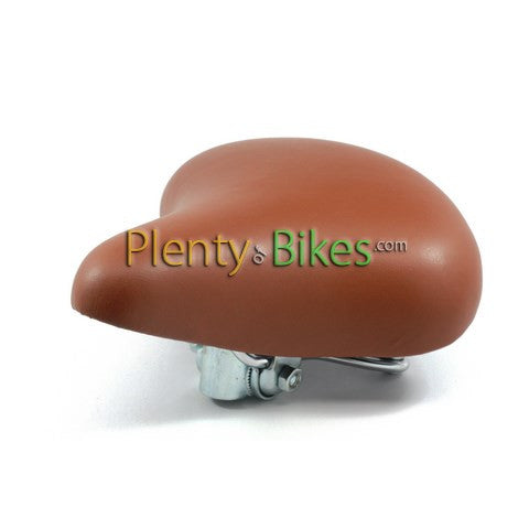 Cruiser Saddle w/ Spring - Small - Plenty of Bikes