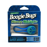 Boogie Bugs Blue Peace Mini Head Light - Plenty of Bikes