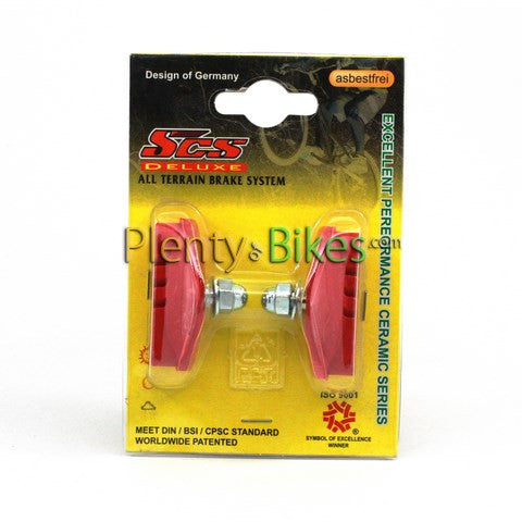SCS Road Brake Pads - Plenty of Bikes