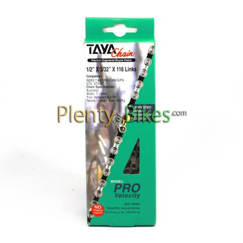 Taya Pro Velocity 7-8 Spd Chain - Plenty of Bikes