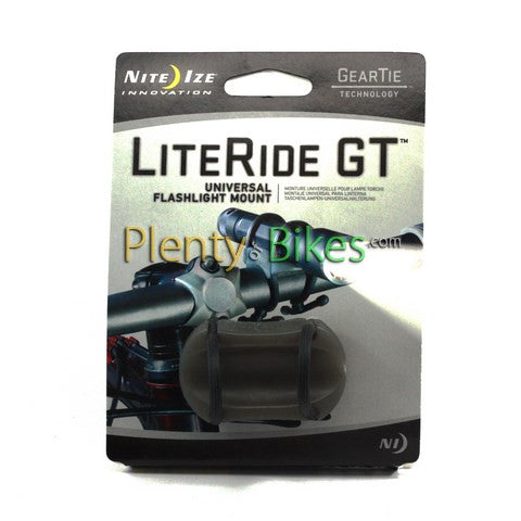 Nite Ize LiteRide GT Flashlight Mount - Plenty of Bikes