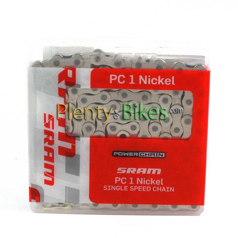 SRAM PC1 Nickel Single Speed Chain - Plenty of Bikes