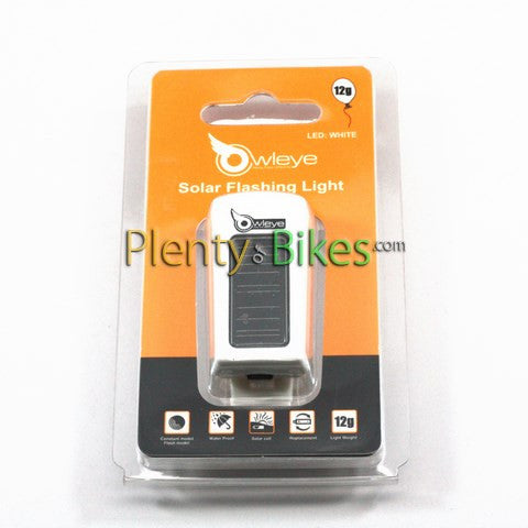 Owleye Nano Solar Headlight TLY-7 - Plenty of Bikes