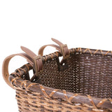 Retrospec Toto Handwoven Cane Basket