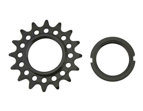 Alloy Fixed Gear Cog/Lockring - Plenty of Bikes