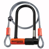 Kryptonite Evolution Mini 7 U-Lock & 4x10mm Cable - Plenty of Bikes