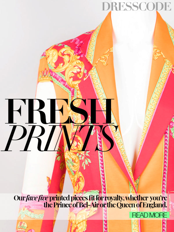 DRESS CODE: FRESH PRINTS