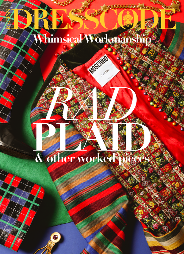 DressCode Rad Plaid & Other Worked Pieces: Whimsical Workmanship. Colorful jacket & plaid Boots