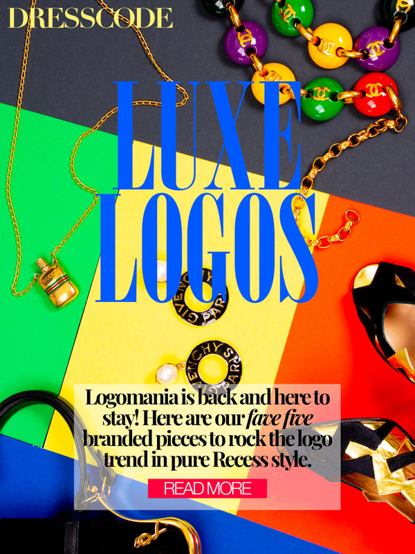 Recess Dress Code Logomania Branded Designer Logo