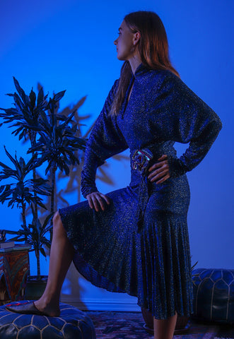 Recess Los Angeles DressCode Editorial Midnight in Morocco Majorelle Blue Vintage Margi Kent