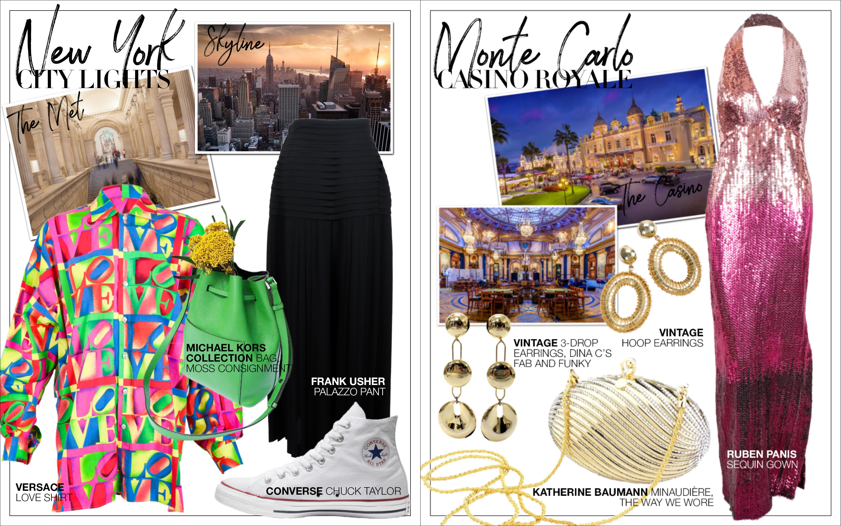 Recess DressCode Escapism Covid Quarantine Fantasy Travel Shopping Guide New York Monte Carlo