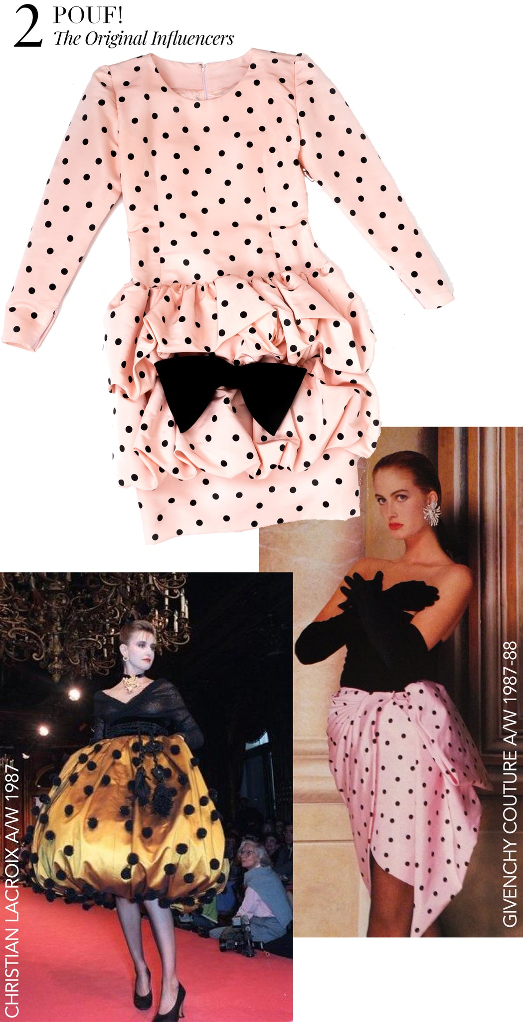 Recess Dress Code Givenchy Pouf Dress Polka Dots