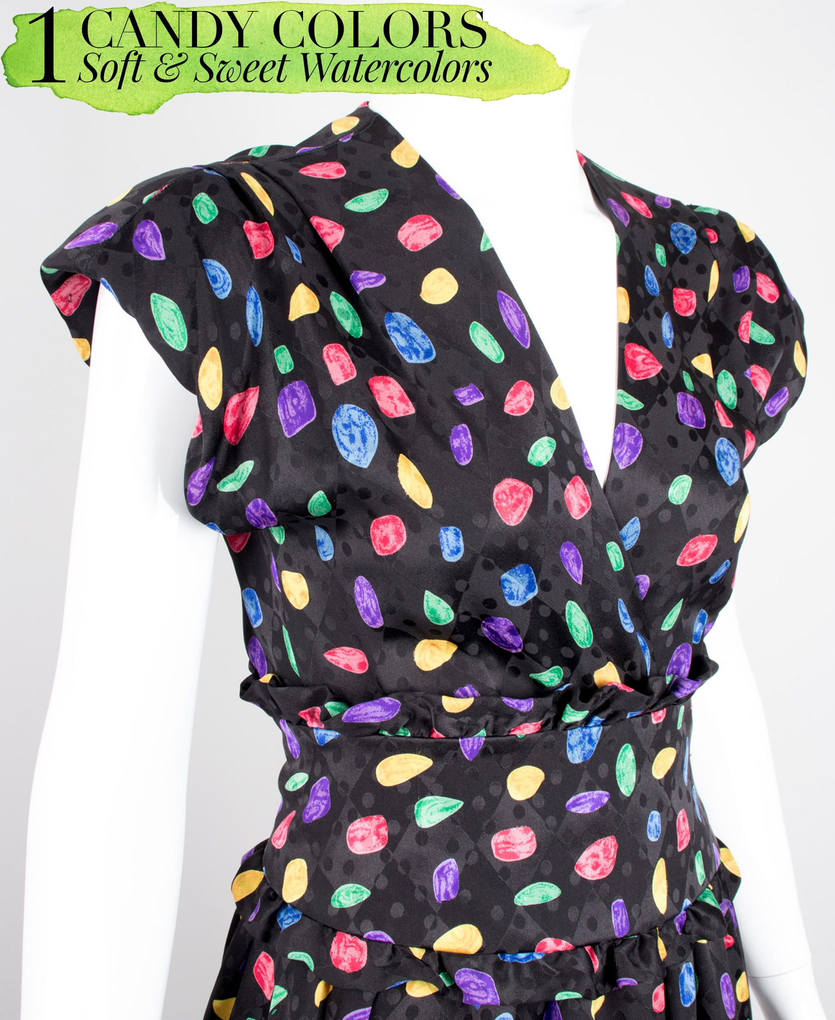 Recess Dress Code Artistic Expressions Painterly Prints Richilene Candy Crush Dress