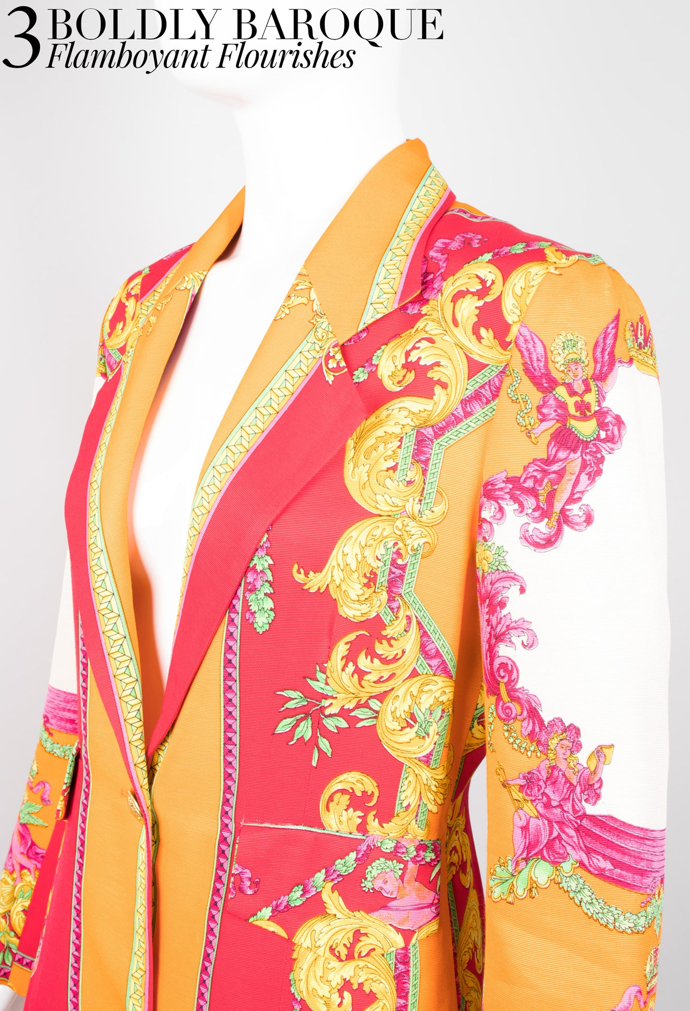 Recess Dress Code Fresh Prints of Bel Air Kamosho Baroque Versace