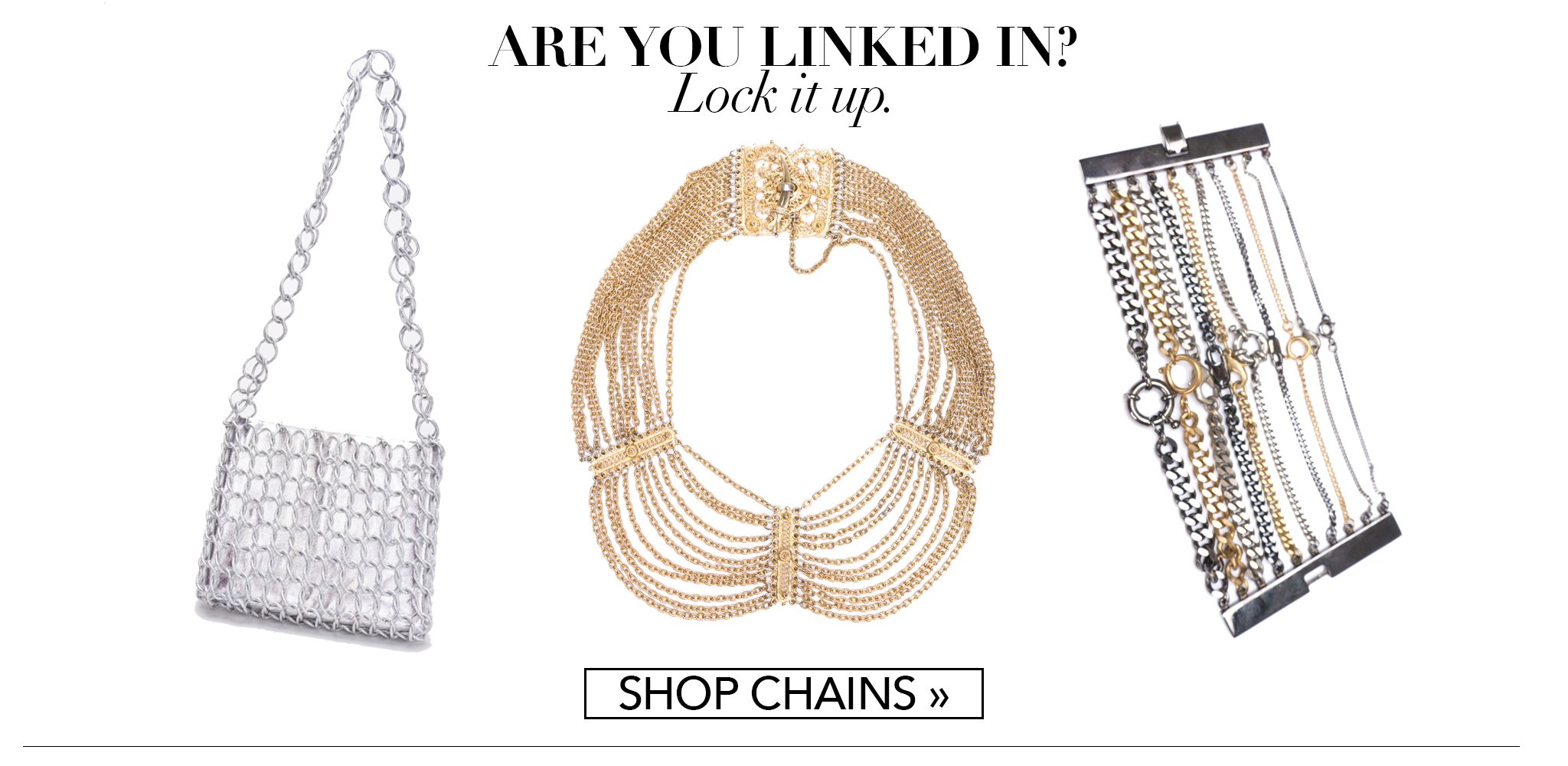 Recess Consignment Holiday Gift Guide Get Linked Chain Collection