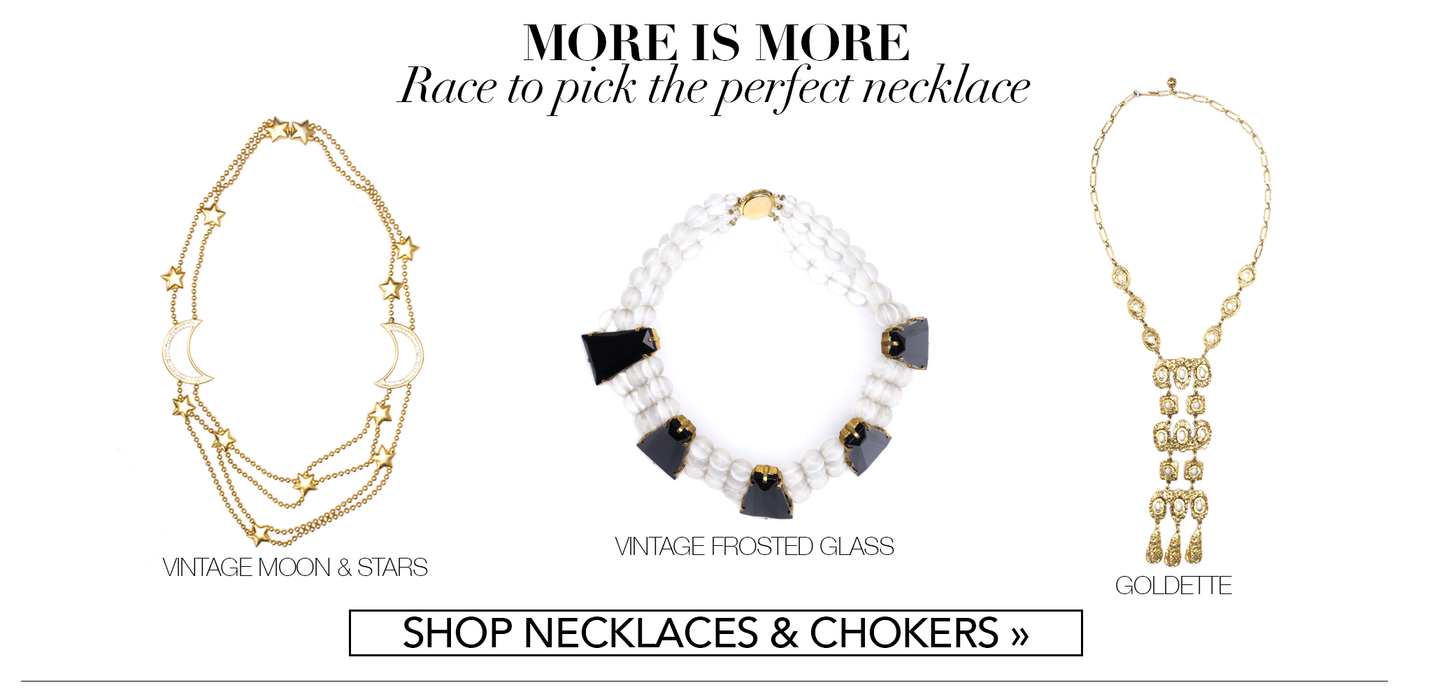 Recess Consignment Holiday Gift Guide Necklaces and Chokers