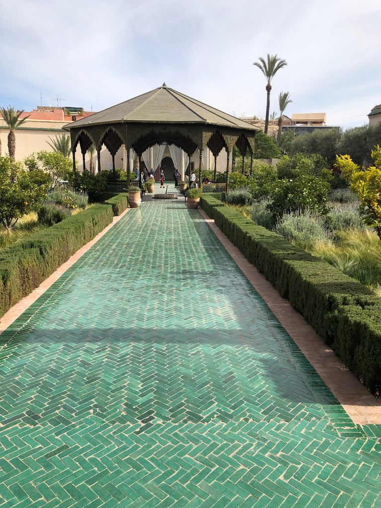 Recess Los Angeles RecessAbroad Marrakech Morocco Secret Garden