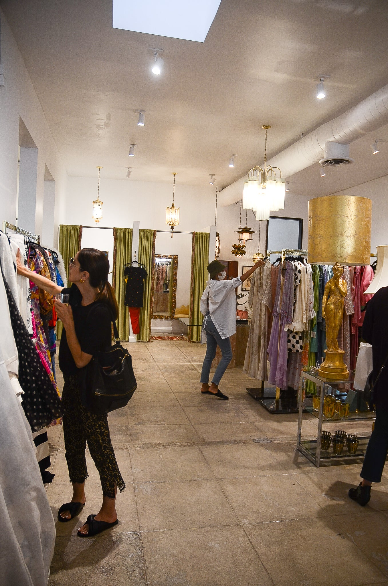 Recess Los Angeles Designer Vintage Consignment Home Expansion Launch Shopping Clients