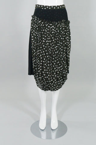 Comme des Garcons Dot Layered Bubble Skirt