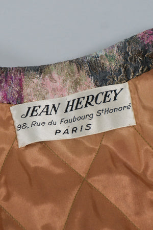 Jean Hercey Couture Label