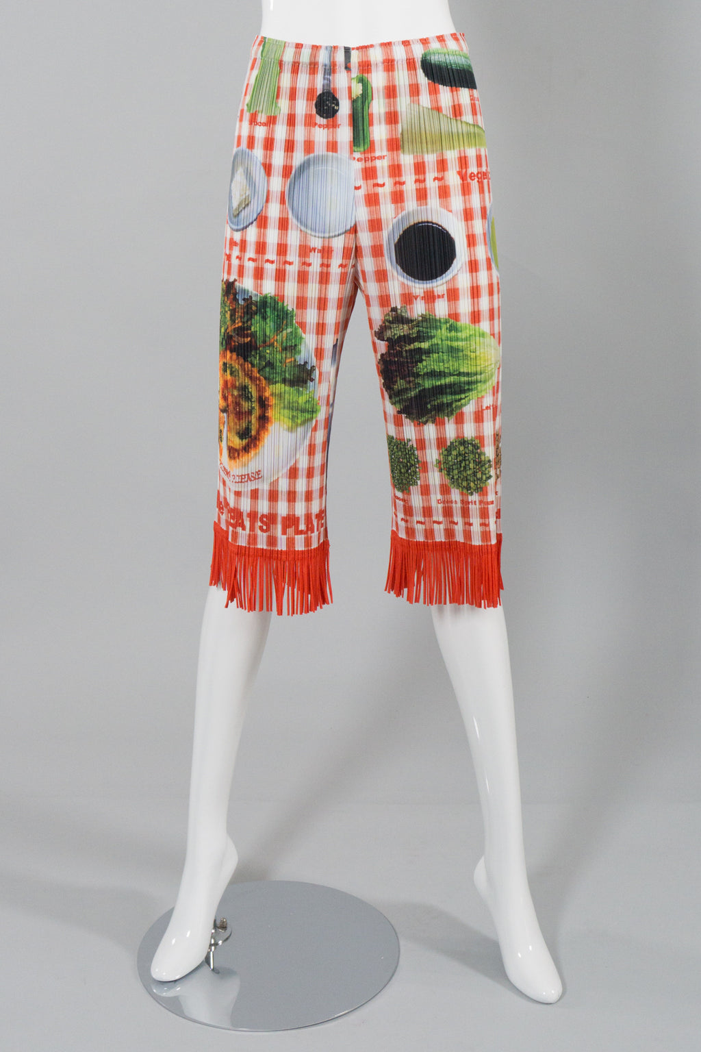 Pleats Please by Issey Miyake Picnic Print Pant