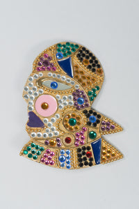 Bijoux Face Brooch