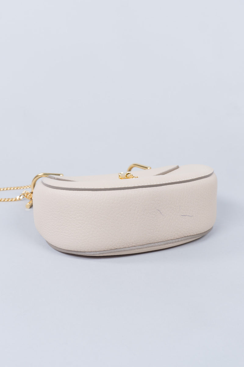 Chloe Drew Crossbody Shoulder Bag in Cement Pink