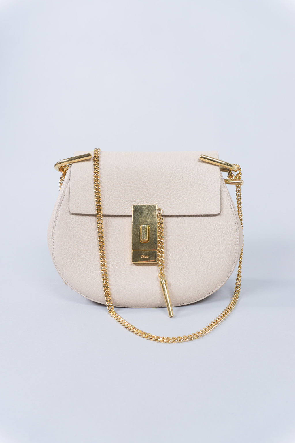 cd9b6d328772 Chloe Drew Crossbody Shoulder Bag in Cement Pink