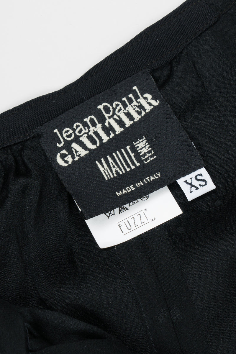 Jean Paul Gaultier JPG Maille Femme Silk Cropped Harem Pant