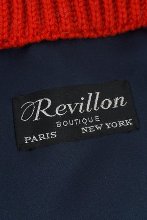 Vintage Revillon Label