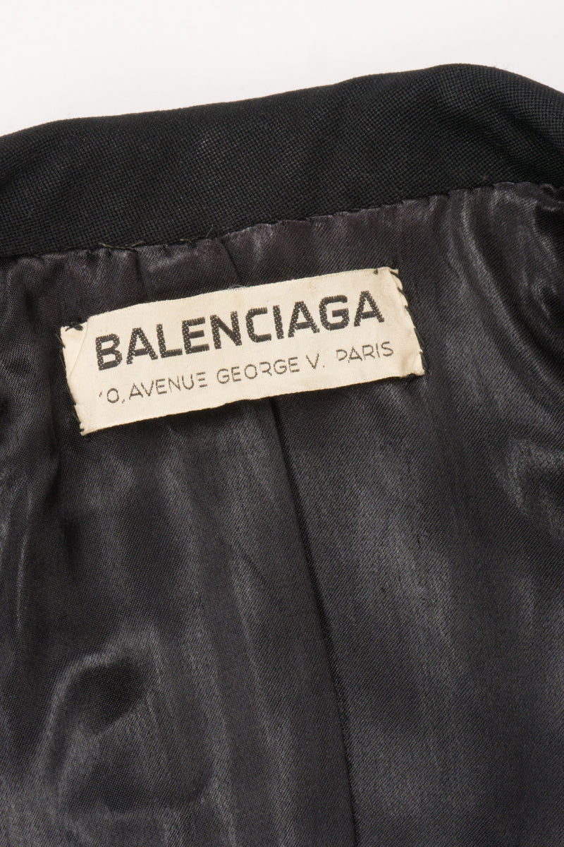 Balenciaga 50s Label