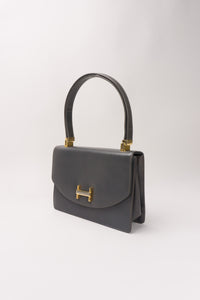 Koret H-Flap Leather Handbag