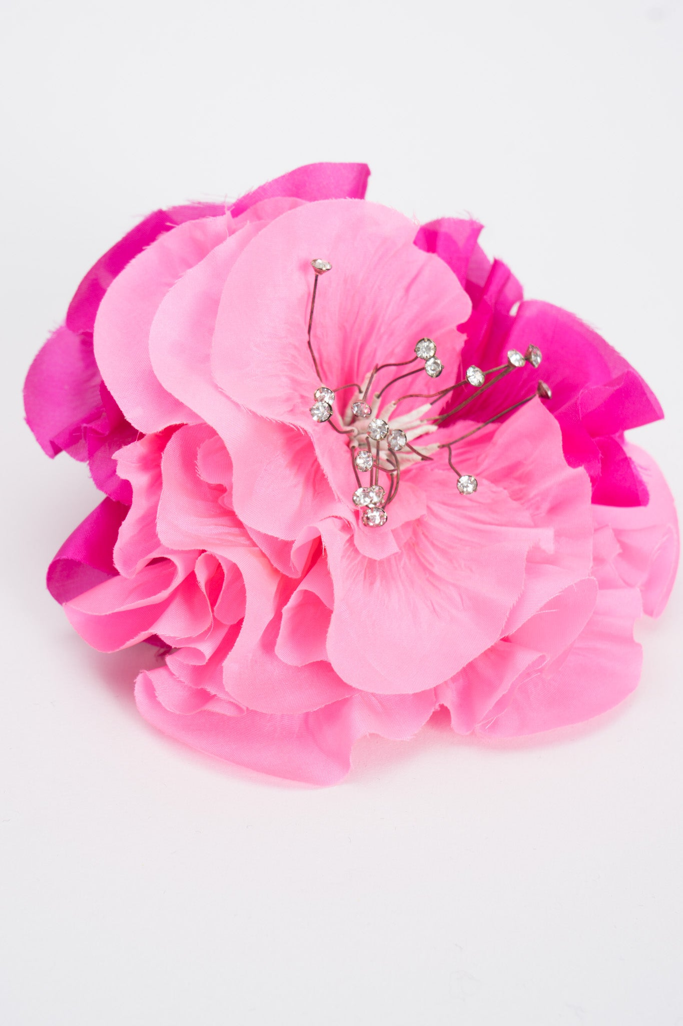 Givenchy Crystal Bloom Flower Haircomb
