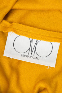 OMO Norma Kamali Monk Robe Sash Jersey Dress