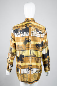 Junya Watanabe Comme Des Garcons Horse & Carriage Shirt